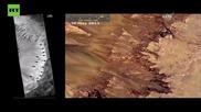 НАСА обави, че е открита течаща вода на Марс
