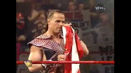 W W F Survivor Series 1997 - Bret Hart vs Shawn Michaels - 1