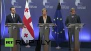 "Belgium: Mogherini vows to ""counter violent extremism"" after Paris attacks"