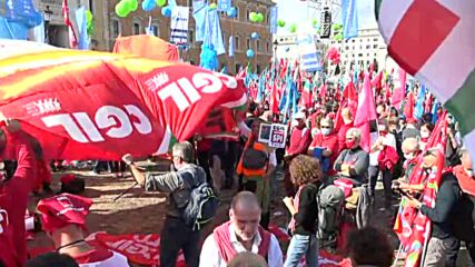 Italy: Left-wing groups rally in response to far-right anti-COVID restrix rampage
