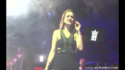 "Melis Bilen performing ""askim Askim"" bachata song"