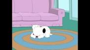 Family Guy - Brayan се събужда от пръднята си ;d
