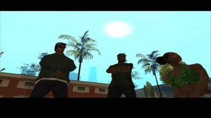 Gta San Andreas: Епизод 1 - Преследване с гангстери, нова прическа и пица
