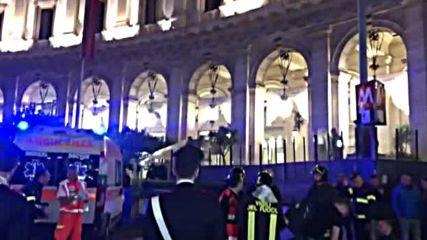 Близо 30 души пострадаха при инцидент в метрото в Рим