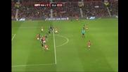 Манчестър Юнайтед 3 - 1 Астън Вил Видич Супер Гол *hq*