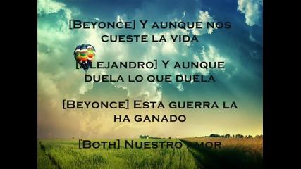 Alejandro Fernandez and Beyonce - Amor Gitano