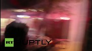 Turkey: Molotovs and fireworks fly as pro-Kurdish battle police water cannon