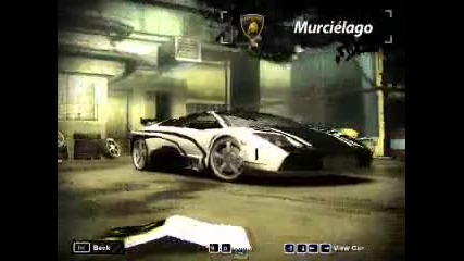 My Cars na Nfs Most Wanted