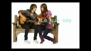 Demi Lovato - Lo Que Soy (caraoke)