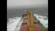 Корабът Вола 1 Попада В Буря
