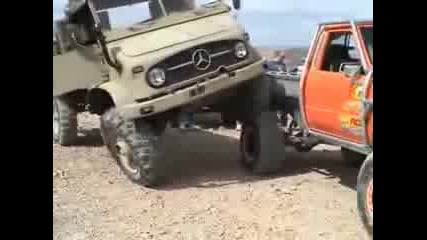 Unimog Humps Toyota