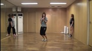 [hd] Hyorin ( Sistar) - Mini Skirt [practice video ]
