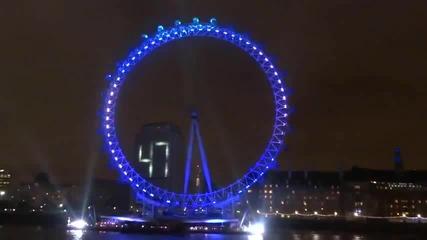 Посрещане на 2013г в Лондон