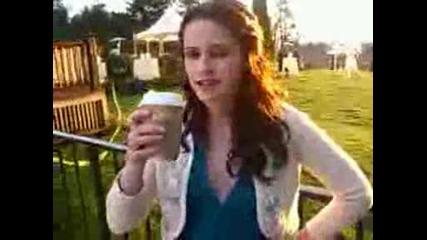 Kristen Stewart - Twilight Set Visit With Seventeen.avi