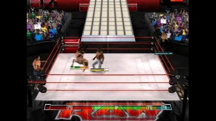 John Cena and Randy Orton vs Rey Mysterio and Undertaker