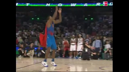 Dwight Howard прави суперменската забивка Slam Dunk Contest 2008!!!