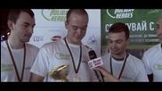 Фирма VMWare - Победителите от Благотворителния Боулинг Турнир