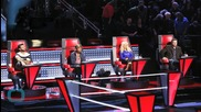 'The Voice' Knockouts Conclude With Christina's Final Steal