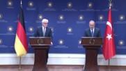 Turkey: Steinmeier addresses strained German-Turkish relations alongside Cavusoglu