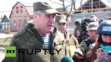 Ukraine: OSCE confirm village shelled 80 times in 24 HOURS!