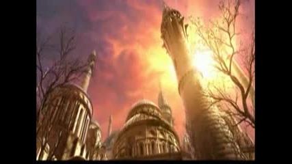 warcraft - Archimonde Destroys Dalaran