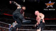 Brock Lesnar vs. Roman Reigns vs. Samoa Joe vs. Braun Strowman - Universal Title Fatal 4-Way Match: SummerSlam 2017 (Ful