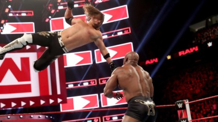 AJ Styles' Phenomenal return to Raw: Wal3ooha,18 April, 2019