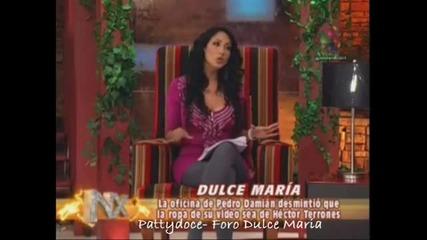 Dulce Maria desmiente Hector Terrones y Belinda pago Deuda a Ines Gomez