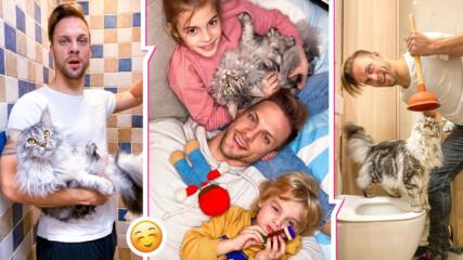 Карантина или не, домашните забавления си текат: Ето как се справя Ваня Джаферович