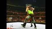 Raven vs. The Hurricane - Wwe Heat 22.12.2002