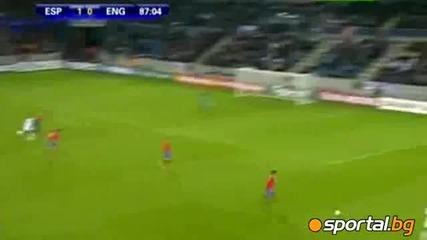 Англия (21г) - Испания (21г) 1:1