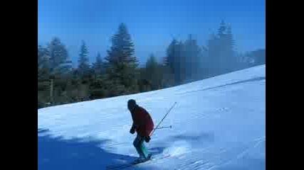 Родителското тяло кара ски втори път