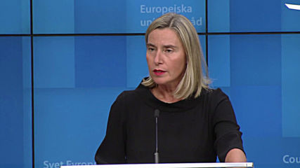 Belgium: 'Not in the best of health but still alive' - Mogherini on Iranian nuclear deal
