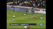 Англия надделя над Дания с 2:1, Швейцария с нулево равенство срещу Малта