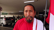 Peru's 'Israelite' football superfan arrives in Rio for Copa America
