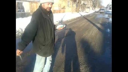 почистване на улиците във гр. Койнаре
