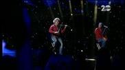 'Фондацията' на сцената на X Factor Live (06.11.2014)