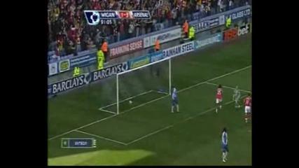 Wigan 1 - 4 Arsenal (song)