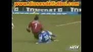 Cristiano Ronaldo - Bad Tackles On !!!!