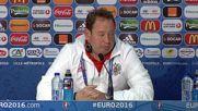 France: Slutski addresses press following Russia's 2-1 defeat to Slovakia