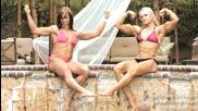 Някой от най - мускулестите фитнес модели жени в този спорт !