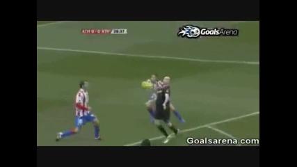 Aтлетик пропуска дузпа срещу Атлетико