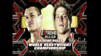wwe extreme rules 2010 official match wwe