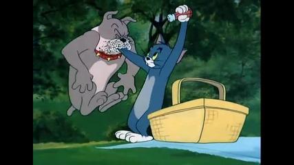 Том и Джери - Кученце на пикник