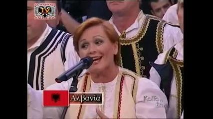 Albanska pesen v Grycka televiziq