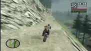 Gta San Andreas Unique Stunt Jump #38 - Mount Chiliad (whetstone)