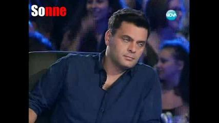 Момичето което се преби и шокира всички с изпълнението си - Мари - X - Factor България 12.09.11