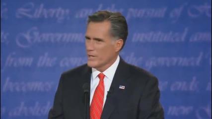 Барак Обама и Мит Ромни пеят Hot and Cold на Кети Пери