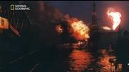 Мигове от катастрофата: Експлозия в Северно море