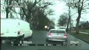 Луда гонка на полицията Vs. Bmw !